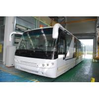 Quality Aluminium Body 24 Seat Airport Shuttle Buses , 4 Stroke Diesel Engine Bus for sale