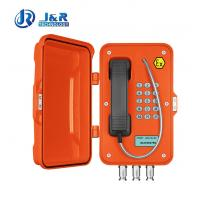Buy cheap Industrial Explosion Proof VoIP Telephone with LCD display For Oil-Gas Station from wholesalers