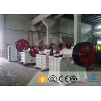 Quality Aggregate Stone Crushing Equipment PE-500×750 Jaw Crusher Plant 1-800 T/H for sale
