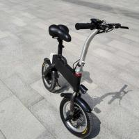 Buy CE FCC Certification 36v 400w Folding Electric Bicycle , Fold Up Electric Bike at wholesale prices