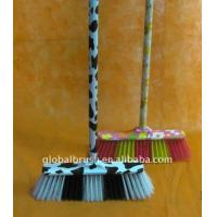 HQ0578P cow design water transfer printing broom head for sale