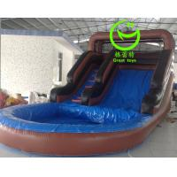 Buy Hot selling inflatable water slide with 24months warranty GT-SAR-1662 at wholesale prices