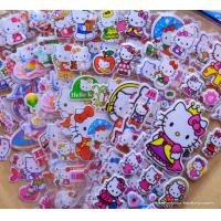 Quality Kawaii Cute Cartoon Foam Stickers 3D EVA Puffy Stickers for Girls Decorative for sale