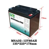 Quality Rechargeable Battery Pack 12v Output , NCM/LiFePO4 Car Battery Backup for sale
