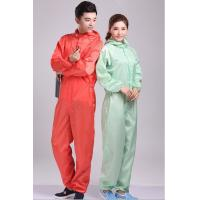Buy 97% Polyester + Conductive Filament Yarn Antistatic Coverall at wholesale prices