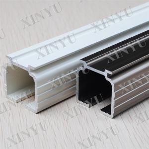 Quality Wooden Grain European Fixed Aluminium Sliding Door Profiles Consist with Turn / Tilt Door for sale
