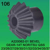 Quality BEVEL GEAR TEETH-14 FOR NORITSU qss2301,2601,2701,2901,3001,3101,3201,3300,3401,3501,3701 minilab part no A220062-01 for sale
