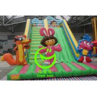 Quality Best selling inflatable dora slide with 24months warranty GT-SAR-1643 for sale