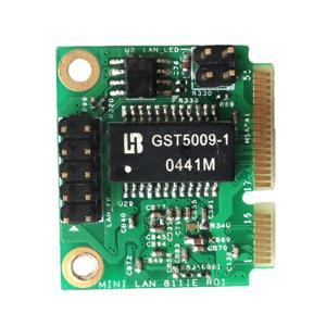 Quality Native PCI Express Gigabit Ethernet Chip MPCIE - RJ45 MinipcIe To 1000 LAN Card for sale