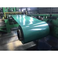 China G3312 A755 JIS ASTM Pre Painted Galvanized Steel Coils 600 - 1250mm Width PPGI Ral 9010 on sale