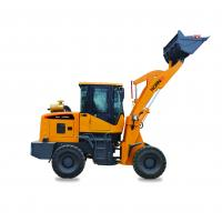 Quality 1.8 Ton Front End Compact Wheel Loader Machine Miniature Construction Equipment for sale