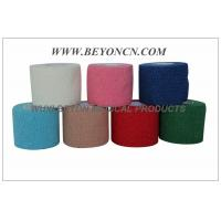 Quality Cotton Cohesive  Elastic Bandage Latex free Hand Tearable , Self Adhesive for sale