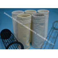 Good Air Permeability Industrial Dust Collector Bags With PTFE Surface Coating Treatment