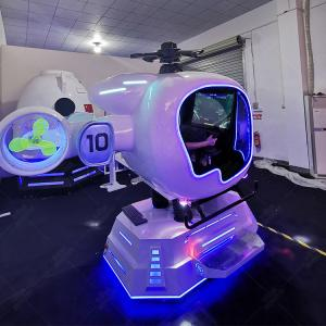 Quality 2020 Vr Flight Simulator Cockpit Aircraft 9d Vr Airplane Full Flying Games Machine for sale