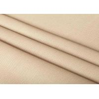 Quality Standard Washing Cotton Plain Weave Fabric No Harmful Chemicals Material for sale