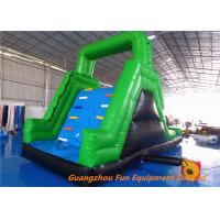 Quality Customized Outdoor  Inflatable water slide for kids fun , bouncer water slide for water park for sale