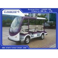 China FR Brake Drum 8 Seater Electric Sightseeing Bus With Sofa Chair Electric Tourist on sale