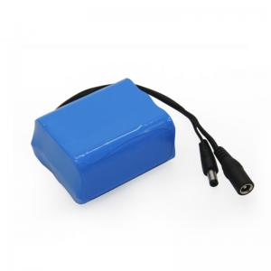 Quality 12V 5000mAh 18650 Battery Pack with Custom Lithium Ion Battery Pack for sale