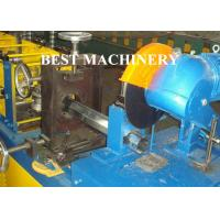Quality Gavalnized Octangle Tube Rolling Machine Hydraulic Cutting Type For Shutter Door for sale