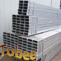 Quality Rectanguler steel pipe for construction hot dipped galvanized for sale
