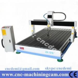 Quality desktop wood cnc router cutting mahcine 3D ZK-1218(1200*1800*250mm) for sale