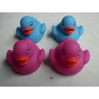 China Promotional Gift Color Changing Ducks Eco Friendly PVC Baby Bath Warm Warning on sale