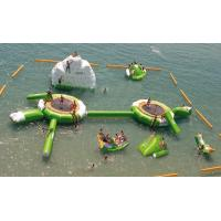 Buy Commercial Inflatable Water Park For lake at wholesale prices