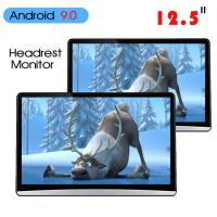 Quality 1920*1080 Car Headrest Monitor Hdmi Android 9.0 2 16g 12.5 Inch ABS Shell for sale