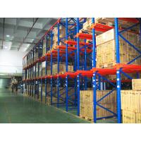 Quality Distribution Center Drive Through Racking System , High Capacity Selective Multi Tier Shelving for sale