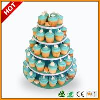 Quality Advertising wedding cake stand / 3 Tier Art Paper paper corrugated for sale