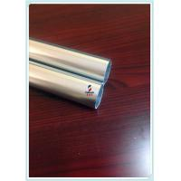 Quality Bright Silver Extruded Aluminium Hollow Profile 6063 T5 Aluminum Round Tube / Pipe for sale