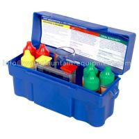 Quality Chlorine Test Kit Swimming Pool Accessories For Spa Water 7 - Way Test for sale