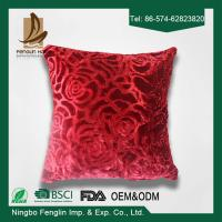 Quality Red Color Festival 45x45 Bedroom Decorative Pillow Covers For Household for sale
