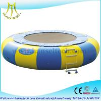 Quality Hansel New Arrival Orbit Water Trampoline Combo With Durable Material for sale