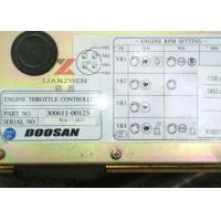 Quality 300611-00123 Engine Throttle Controller Throttle Board for DH220-5 DOOSAN Excavator Parts for sale