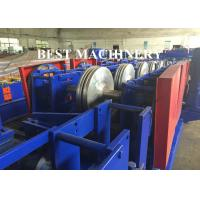 Buy Cable Tray Plank C U Channel Roll Forming Machine Hydraulic Cutter / Punch at wholesale prices