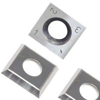 Quality RTing 14mm Square Carbide Inserts Cutter for Wood Working & Turning,(14mm lengthX14mm widthX2.0 thick),Pack of 10 for sale