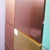 Quality Multi Color Copper Composite Panel 600mm * 800mm * 3mm For Wall Decoration for sale