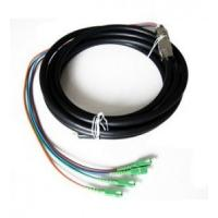 Quality Outdoor Waterproof Fiber Optic Pigtail Anti Corrosion Strong Tensile Ability for sale