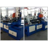 Quality Handle Bar Steel Tube Cutting Machine , Full Automatic Metal Tube Cutting Machine for sale