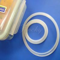 Quality Pure Airtight Box Silicone Gasket Silicone Sealing Ring With Customized Design for sale
