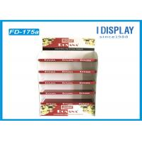 China Foldable Corrugated Pop Displays Floor Stands For Shopping Mall on sale
