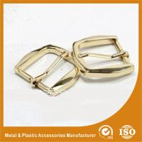 Buy cheap Gold Metal Pin Buckle 25X34.7X38MM OEM Fashion Handbag Buckle Zinc Material from wholesalers