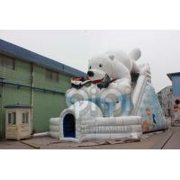 Quality Gaint  Inflatable Polar Bear Slide for sale