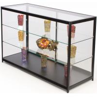 Quality 60 Inch Cell Phone Display Cabinet With Sliding Door Adjustable Shelves for sale