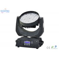 Quality LED108pcs 3W RGBW Zoom Wash  Moving  Head Light for Disco 13 Channel LCD display for sale