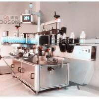 Quality Front Side Square Bottle Labeling Machine / Equipment with Re - orientation for sale