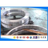 H 13 Steel Hot Forged Rings / Forged Metal Rings With Polished Surface for sale