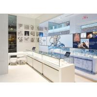 LED Lights Decorated Custom Glass Display Cases / Shop Display Cabinets