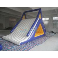 Quality Inflatable Floating White Slide for sale